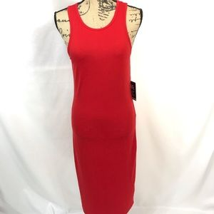 Express Red Tank Dress Size Large NWT